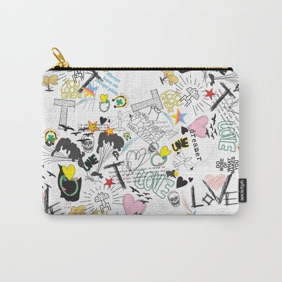 Pop Art ( Cartoon Pattern) V2 Carry-All Pouch