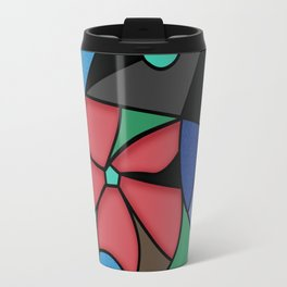 Abstract pattern Mosaic . Travel Mug