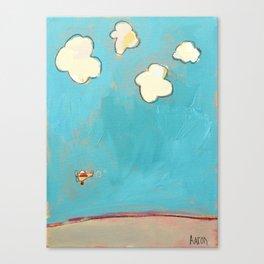 Putt-Putt Canvas Print