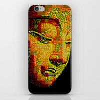 buddah iPhone & iPod Skins featuring Buddah II by noirlac