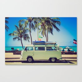 Summer Vacation Road Trip (Beach) Canvas Print