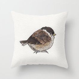 Bird no. 279: What a Day Throw Pillow