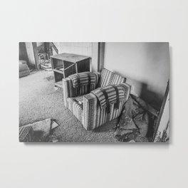 The Yellow House, Arena, North Dakota 11 Metal Print