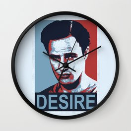Marlon 'DESIRE' Brando Wall Clock