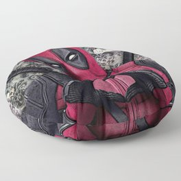 Dead pool - Sweet superhero Floor Pillow