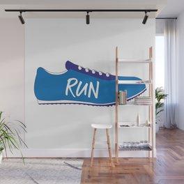 Running Shoes Wall Mural