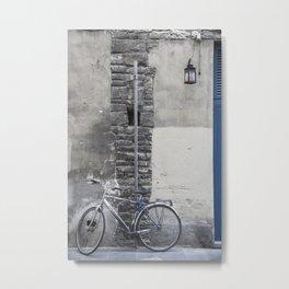 Bicycles of Tuscany7 Metal Print