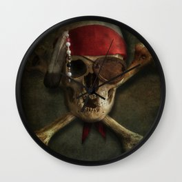 Once a pirate Wall Clock