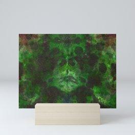 Evergreen DyeBlot Mini Art Print