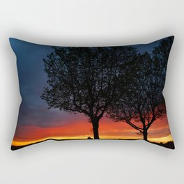 Colours of the night Rectangular Pillow