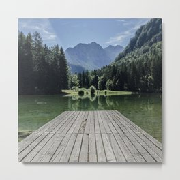 Green Lake nature Metal Print