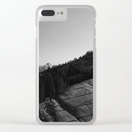 Olmsted Point, Yosemite National Park II Clear iPhone Case