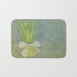 Asparagus Still Life Bath Mat