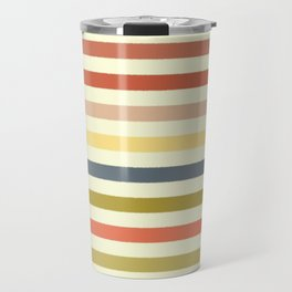 baby ikat stripe cream Travel Mug