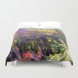 Go Deeper Into The Woods Duvet Cover