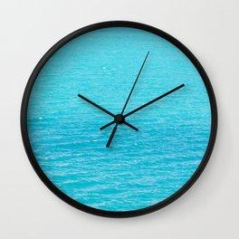 Sea's surface Wall Clock