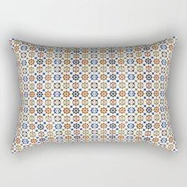Seamless Pattern Oriental Style 1 Rectangular Pillow