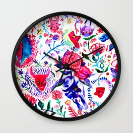 PRIMAVERA DOS CARETOS Wall Clock