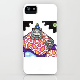Feliousnaut the Wizard iPhone Case