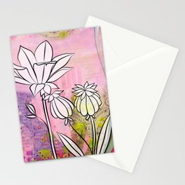 Pod and Daffodil Garden Stationery Cards