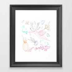 Humming Boyd  Framed Art Print