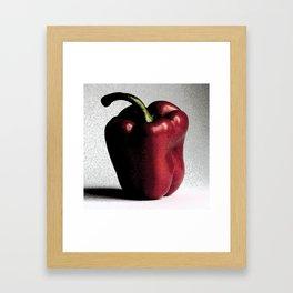 Pepper Framed Art Print