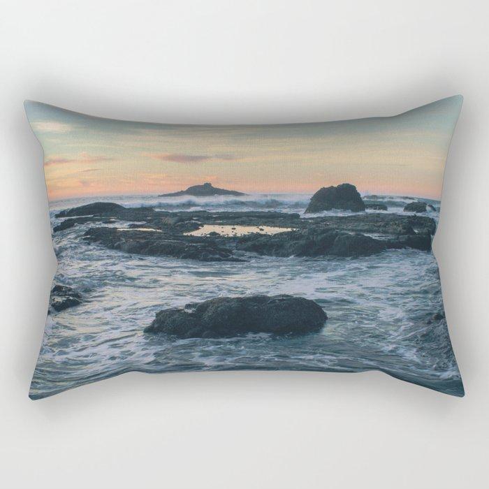 Road's End Rectangular Pillow