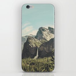 Yosemite Valley Waterfall iPhone Skin