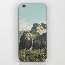 Yosemite Valley Waterfall iPhone Skin