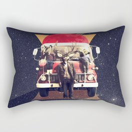 El Camion Rectangular Pillow