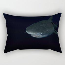 Shark After Dark Rectangular Pillow