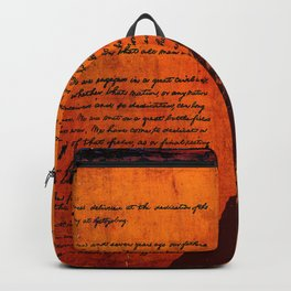 Abraham Lincoln and the Gettysburg Address Backpack