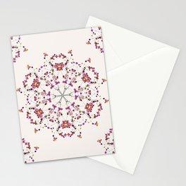Floral Mandala II Stationery Cards