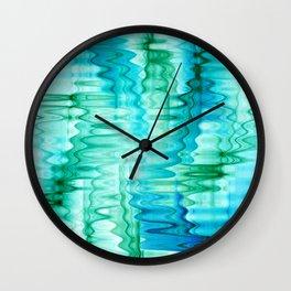 Water Ripples Abstract Wall Clock