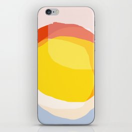 Tropical Sunny Day (Abstract) iPhone Skin