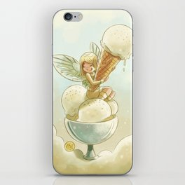 Goblins Drool, Fairies Rule! - Vanilla Scoop iPhone Skin