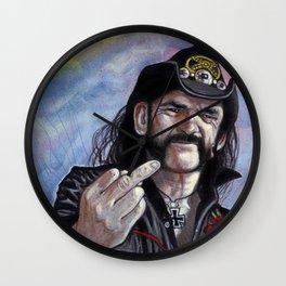 Lemmy Kilmister - Motorhead Wall Clock