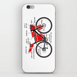 Bikepacking iPhone Skin