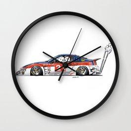 Crazy Car Art 0226 Wall Clock