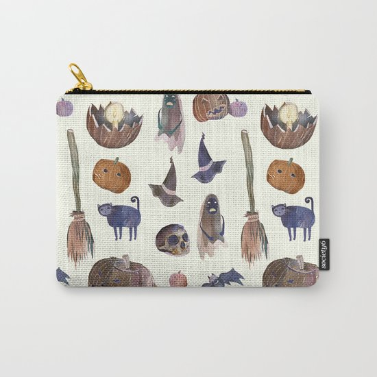 warm up halloween Carry-All Pouch