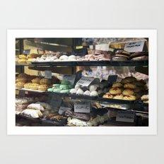 Australian Bakery Art Print
