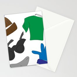 He Loves Fashion (Jeremiah) Stationery Cards