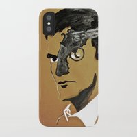 quentin tarantino iPhone & iPod Cases featuring Quentin by Gabby Grife | GuinArt