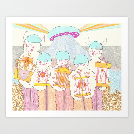 Everybody Wins Art Print