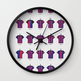 25 Years of Kits Barcelona Wall Clock