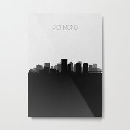 City Skylines: Richmond Metal Print