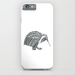 Cute & Funny Kiwi bird from New Zealand iPhone Case