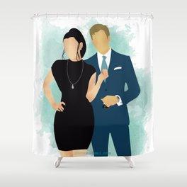 Kiss the Sky Shower Curtain