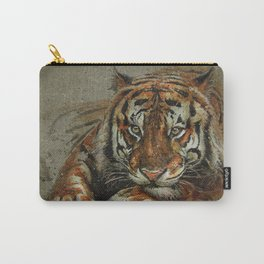 Tiger background Carry-All Pouch