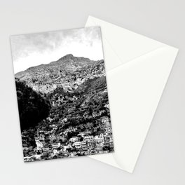 Black & White Italy Stationery Cards